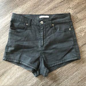 Black Brandy Melville Booty Shorts